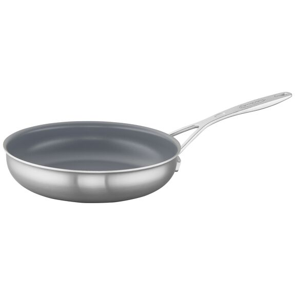 9.5-inch Stainless Steel Ceramic Nonstick Fry Pan,,large 2