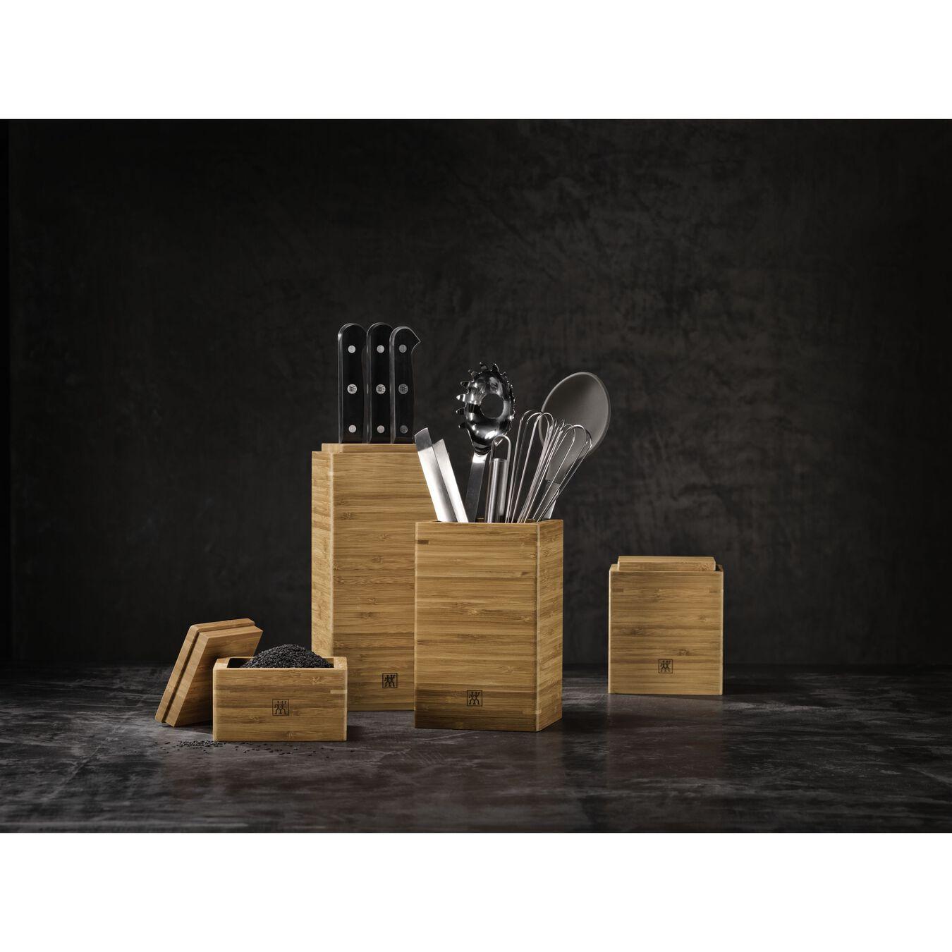 bamboo Storage jar set,,large 2