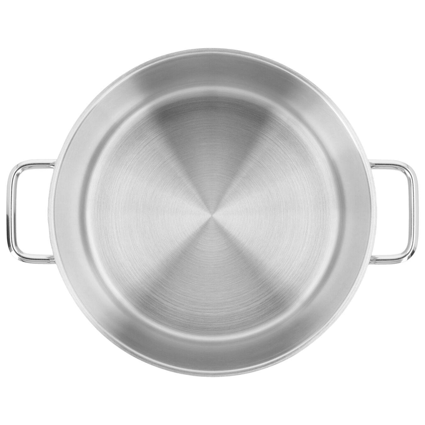 Marmite avec couvercle 24 cm, Inox 18/10,,large 2