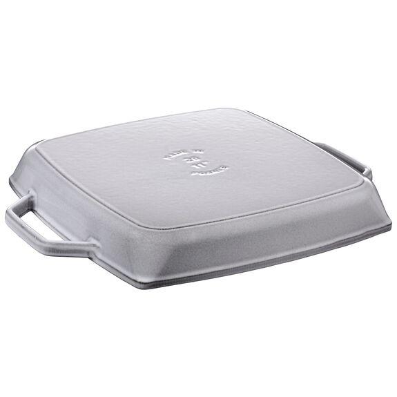 11-x-11.02-inch Enamel Grill pan,,large 2