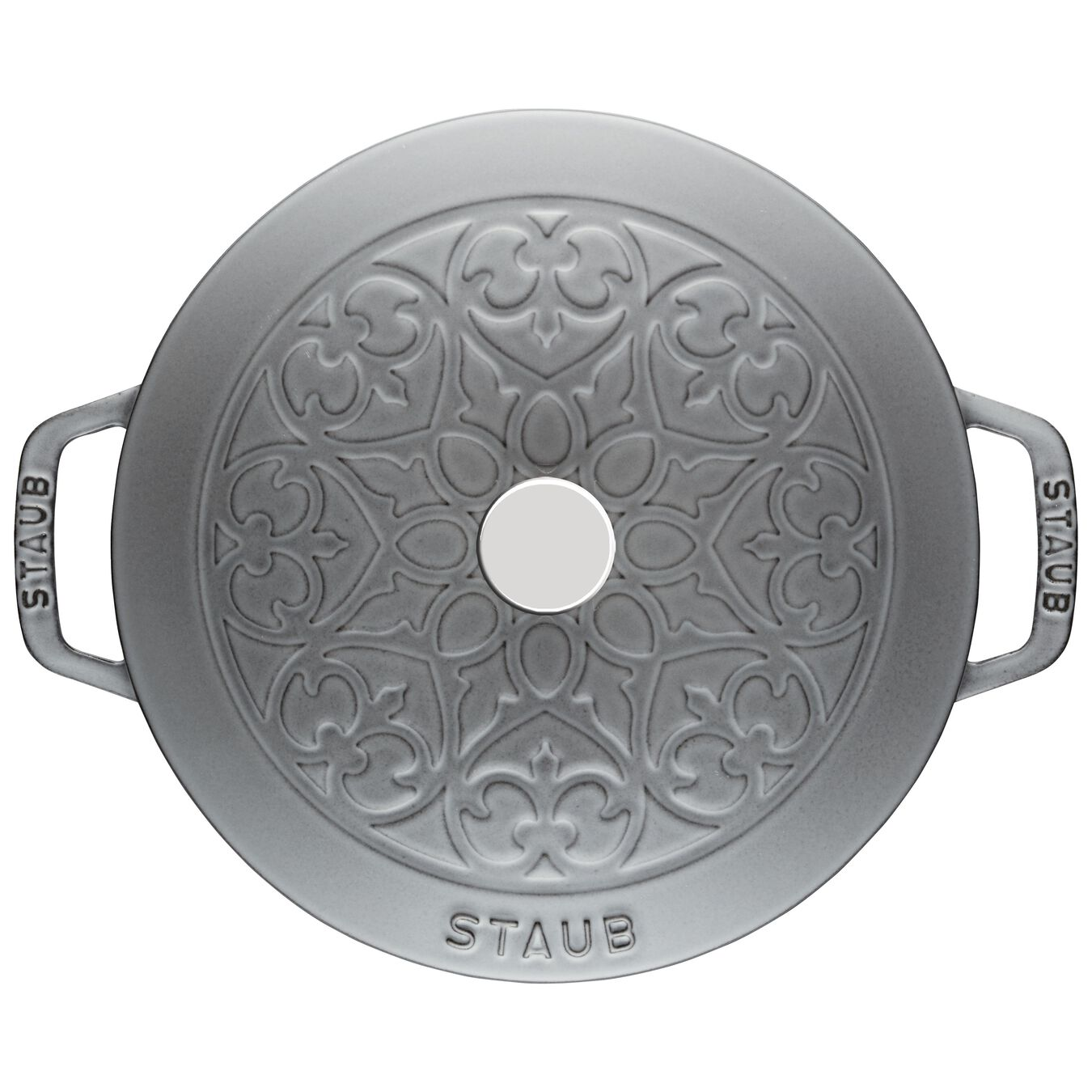 5 l Cast iron round French oven, Graphite-Grey,,large 2
