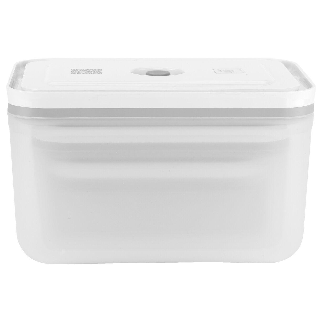 Vacuum Container Set, small/medium/large / 3-pc, Plastic, White,,large 2