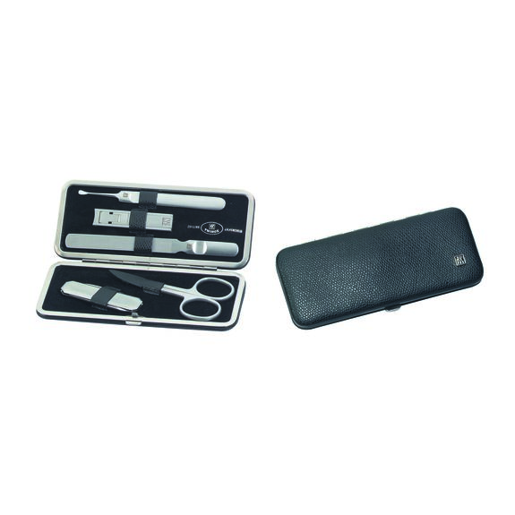 5-Piece Calf leather Snap fastener case,,large 4