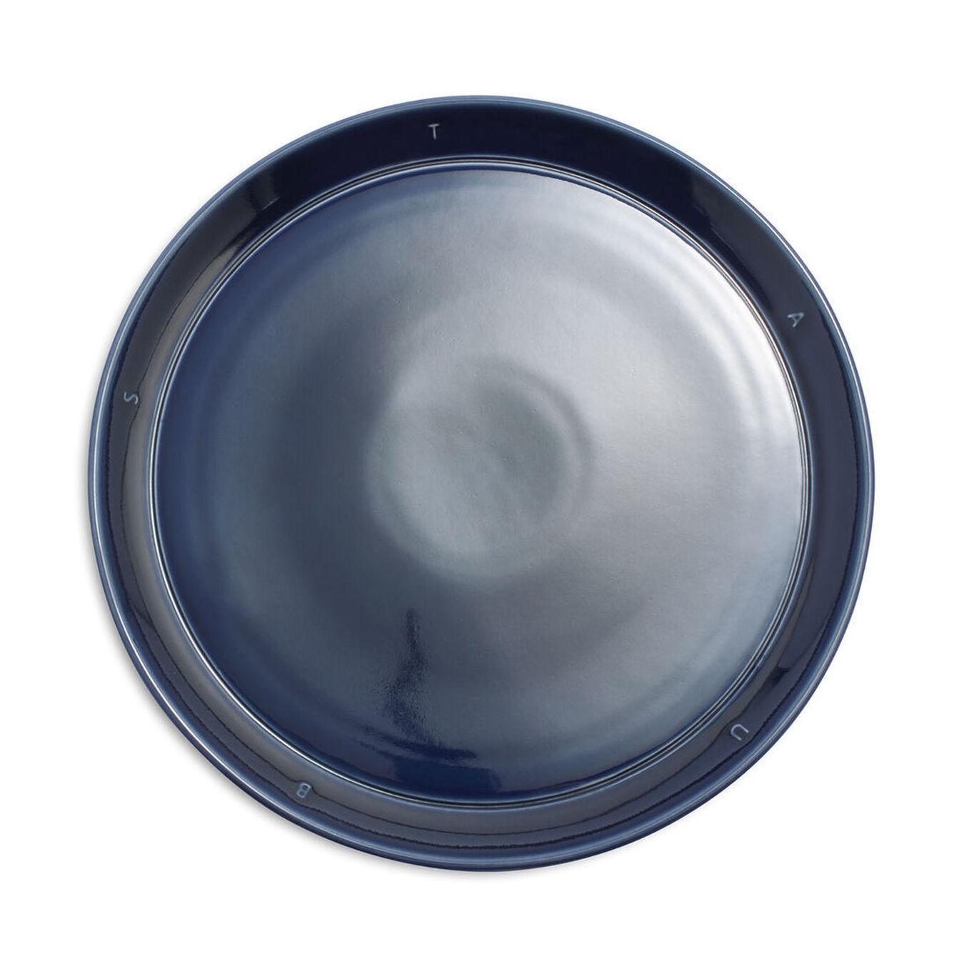 Serving set, 12 Piece   Dark-Blue   Ceramic   round   Ceramic,,large 4