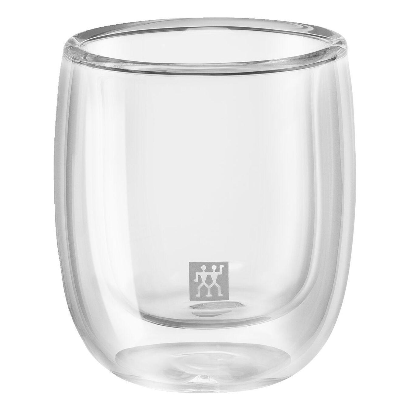 Service de verres à expresso à double paroi, 2-pces,,large 3