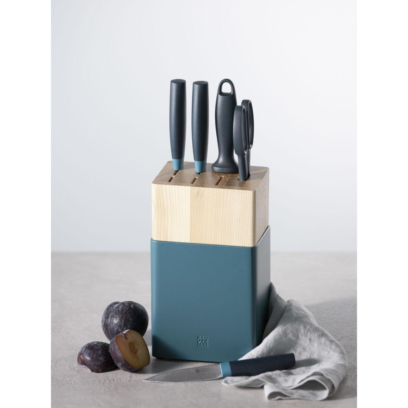 6-pc, Z Now S Knife Block Set, blueberry,,large 4
