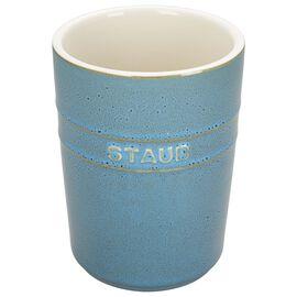 Staub Ceramics, Utensil Holder - Rustic Turquoise
