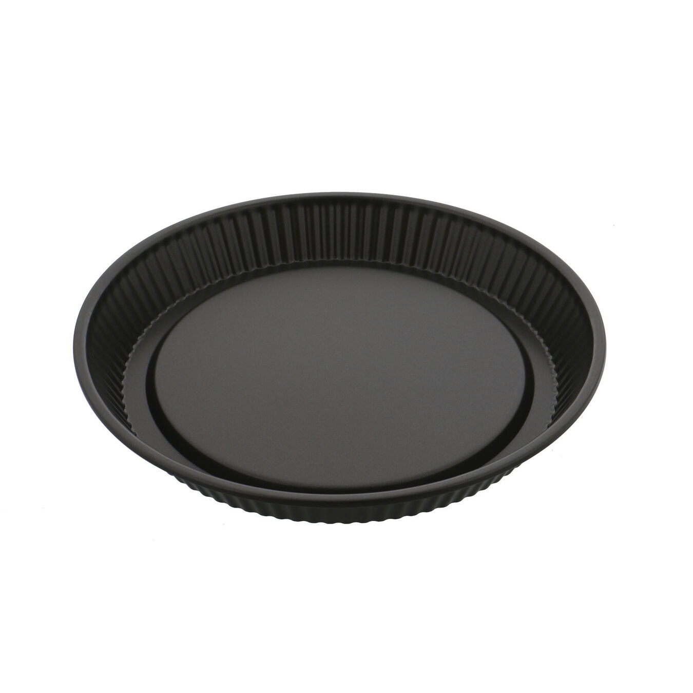 11-inch, Pie dish, black matte,,large 1