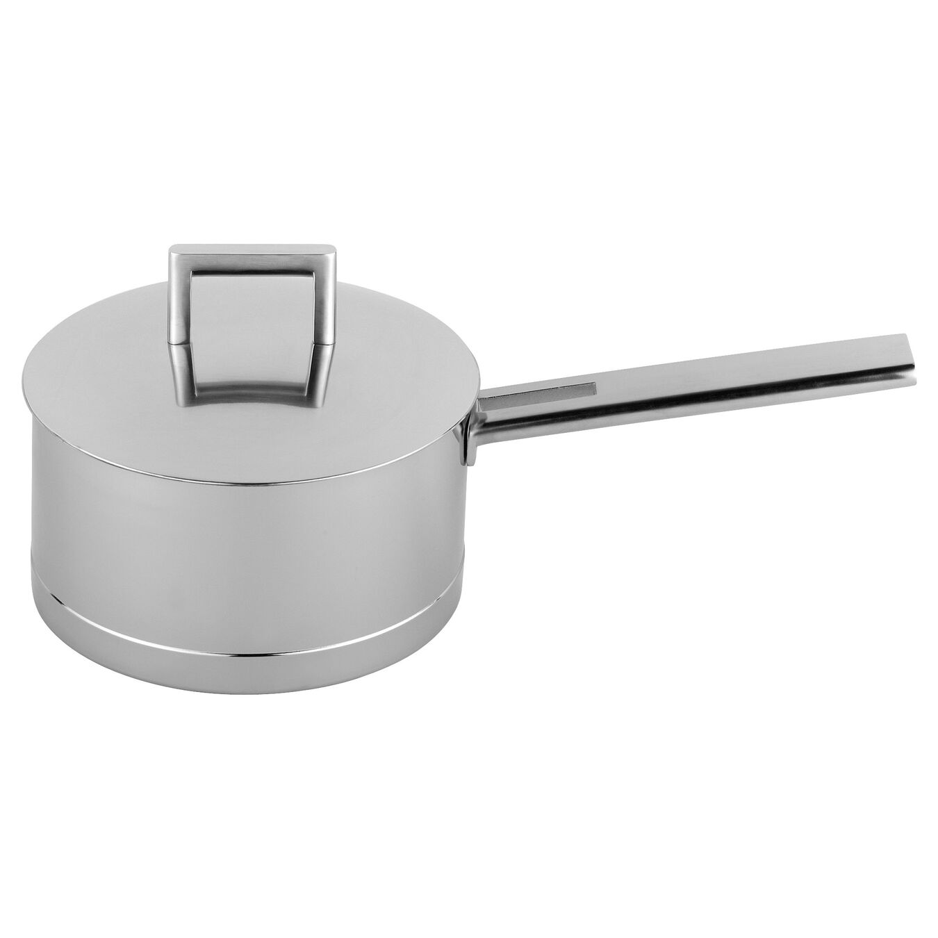 3.25 qt Sauce pan with lid, 18/10 Stainless Steel ,,large 1