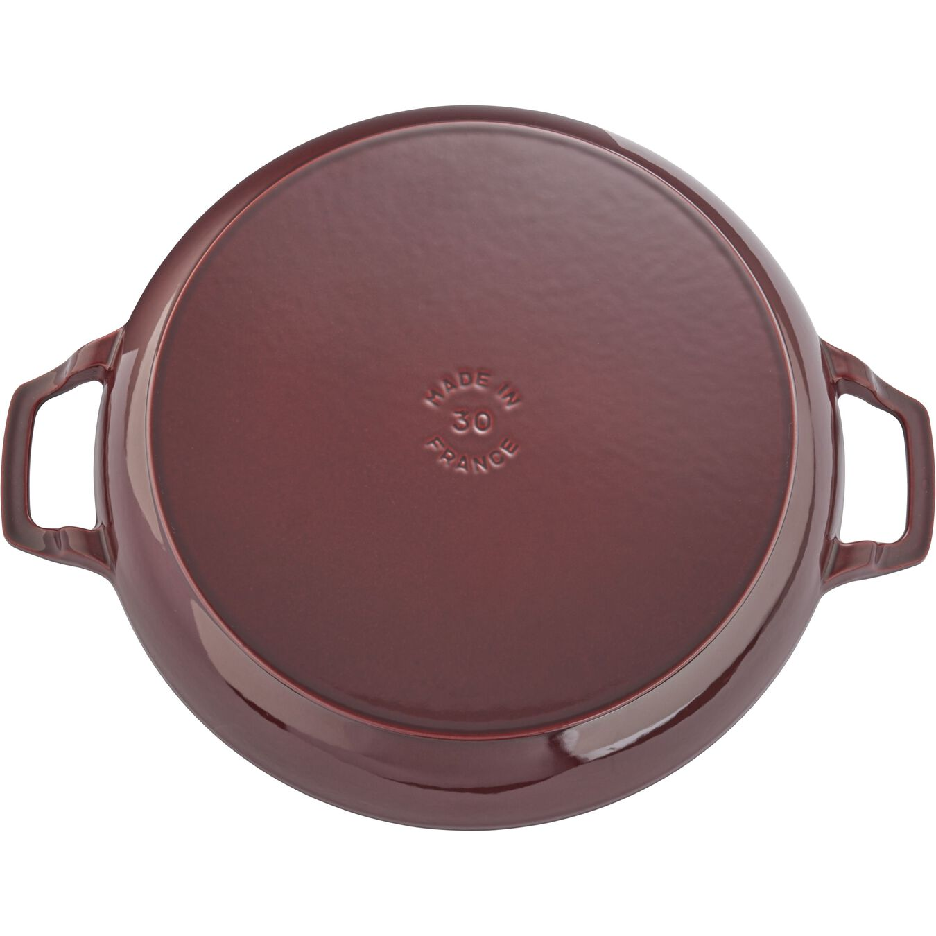 12-inch, Saute pan with glass lid, grenadine,,large 3