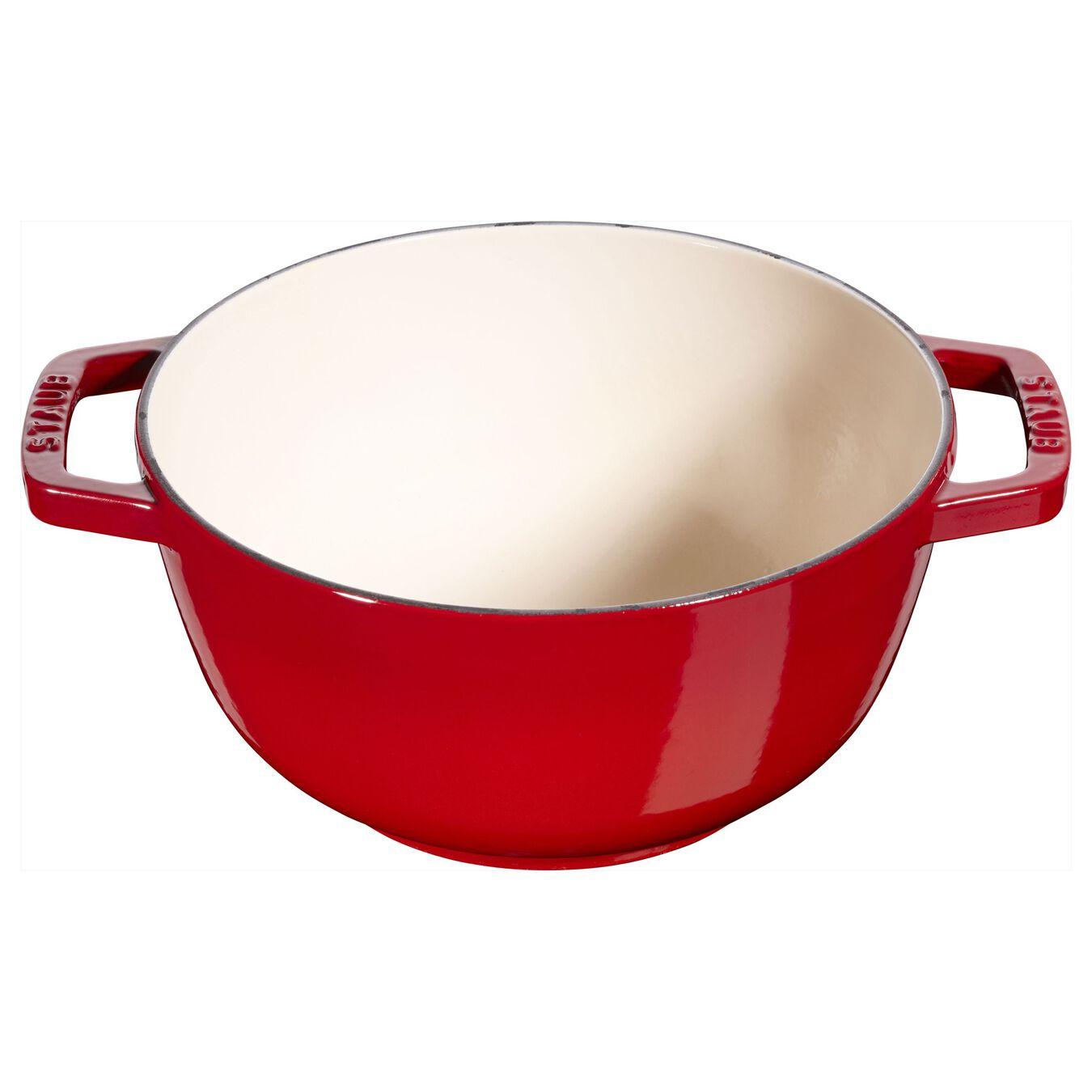 Conjunto para fondue 16 cm, Vermelho cereja,,large 4