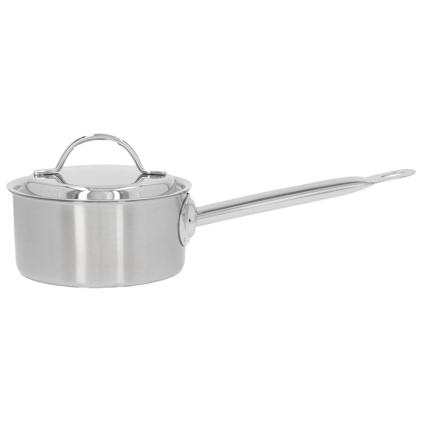 Steelpan met deksel 14 cm / 1 l,,large 1