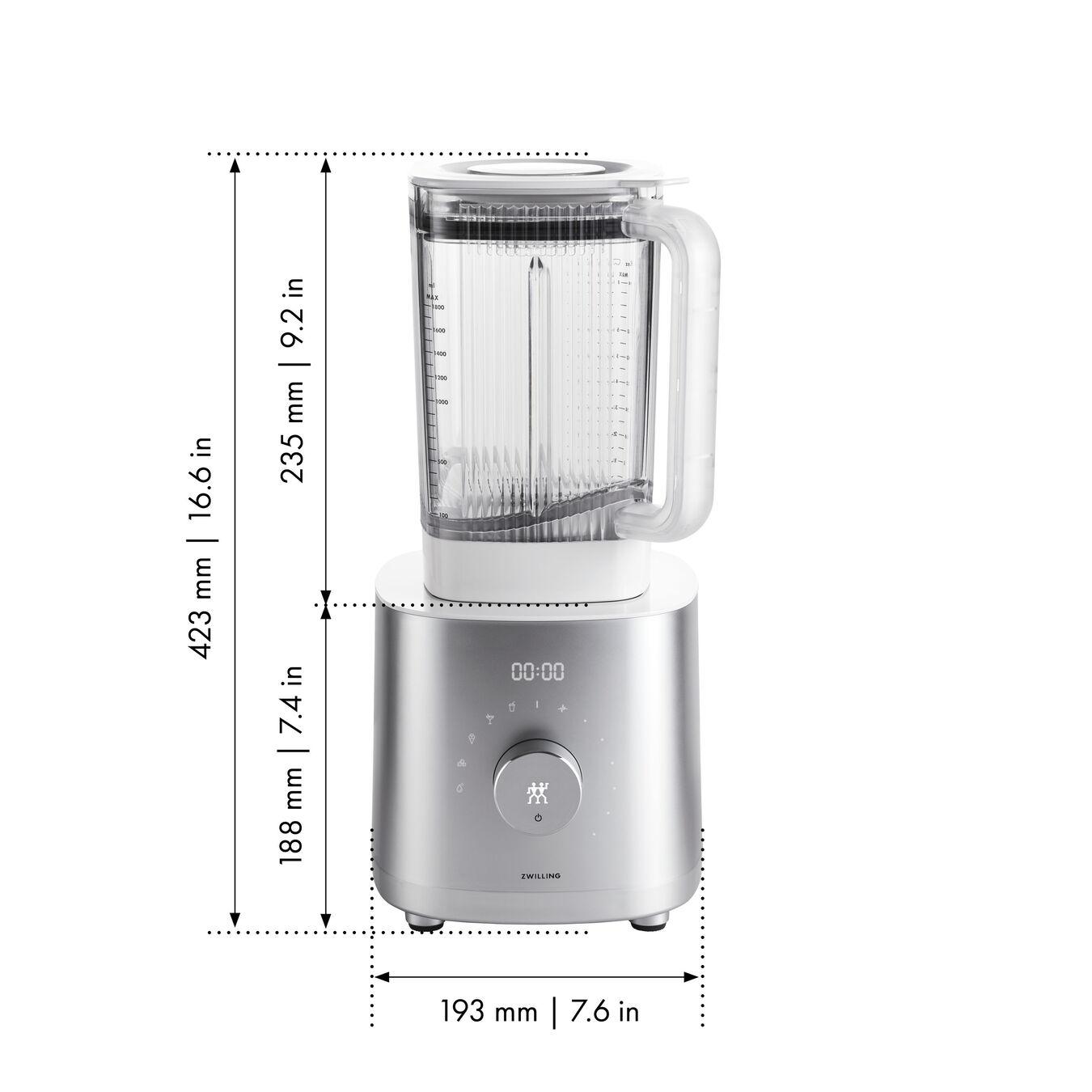 Frullatore ad alte prestazioni - AC Motor, argento,,large 10