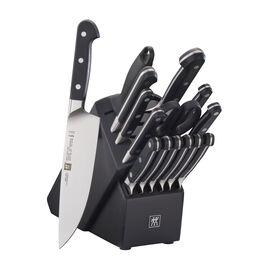 ZWILLING Pro, 16-pc Knife Block Set - Black