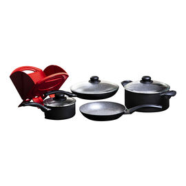 BALLARINI Matera Granitium, 8-pc Cookware Set