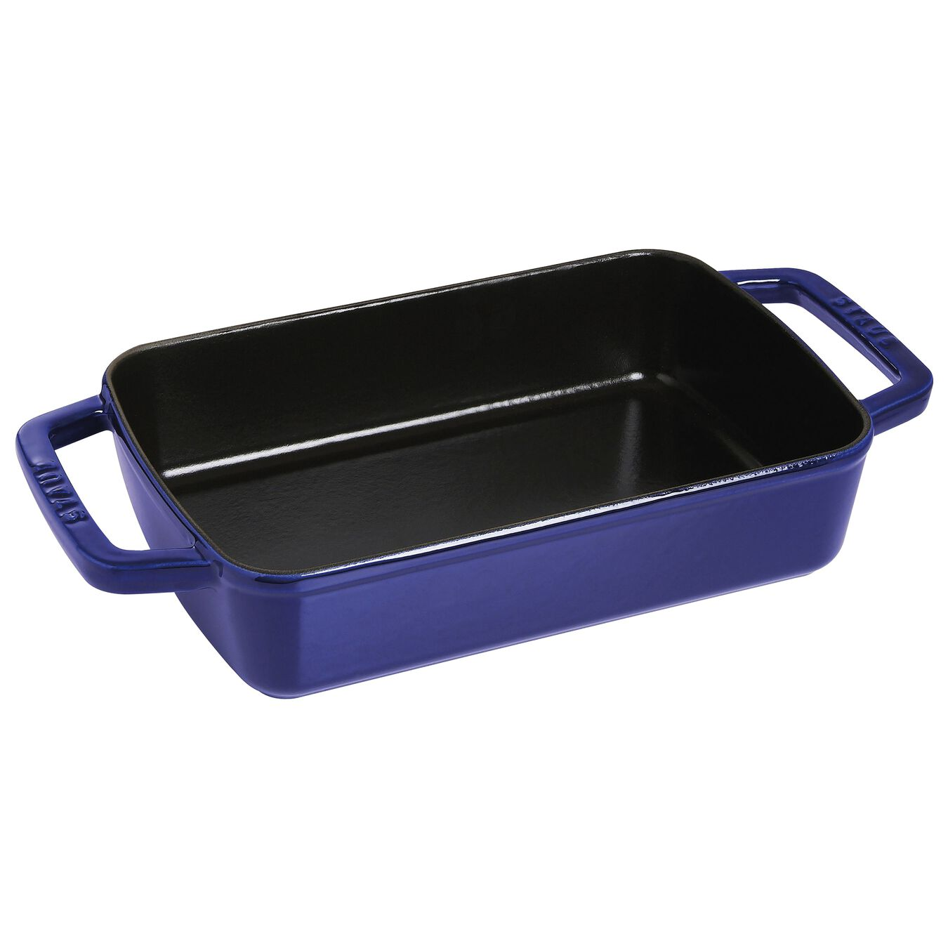 12-inch x 8-inch Roasting Pan - Dark Blue,,large 1