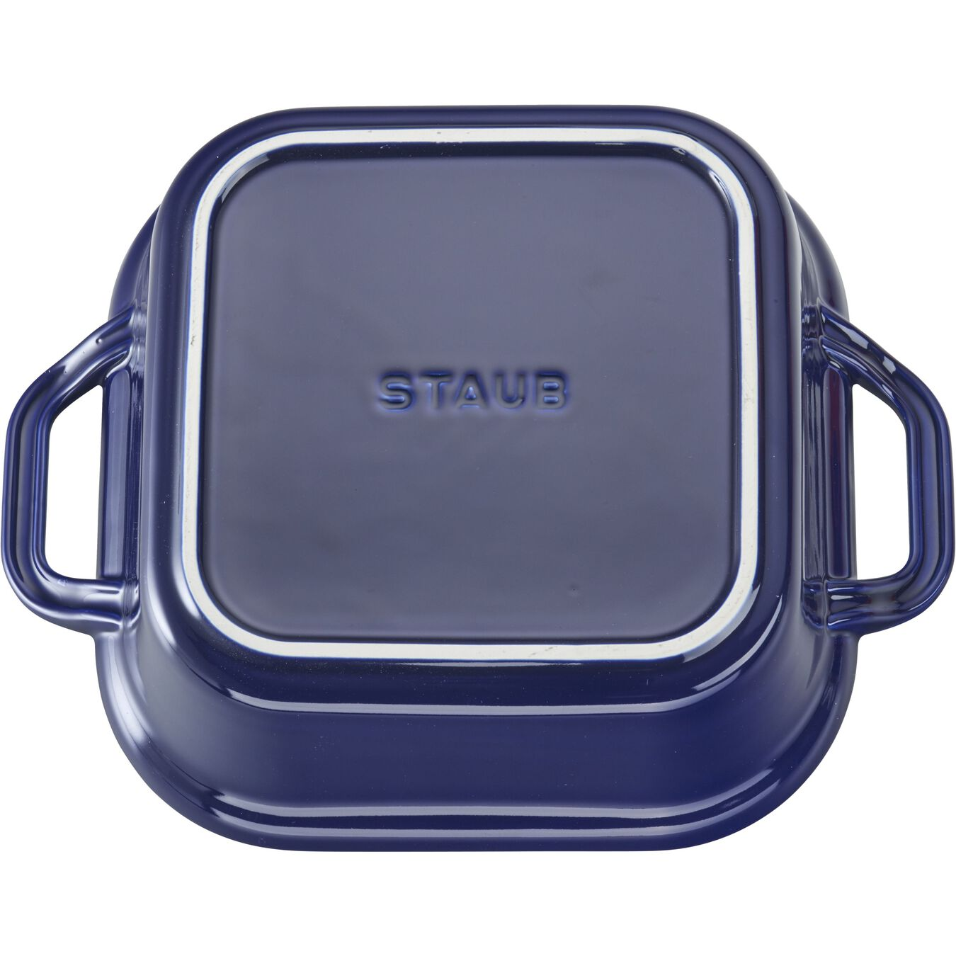 9-inch X 9-inch Square Covered Baking Dish - Dark Blue,,large 3