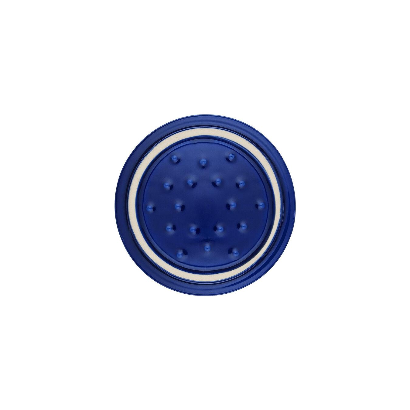 Mini Cocotte 10 cm, rund, Dunkelblau, Keramik,,large 2