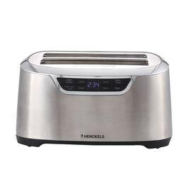 2 long slots Toaster - silver-black