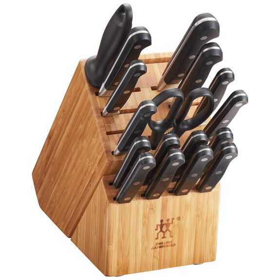 18-pc Knife block set ,,large