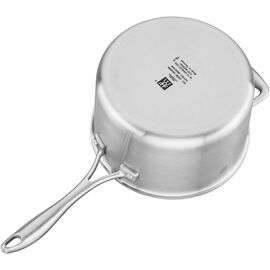 ZWILLING Spirit Ceramic Nonstick, 4 qt Sauce pan, 18/10 Stainless Steel