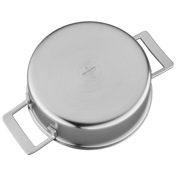 4-qt Stainless Steel Deep Saute Pan,,large 3