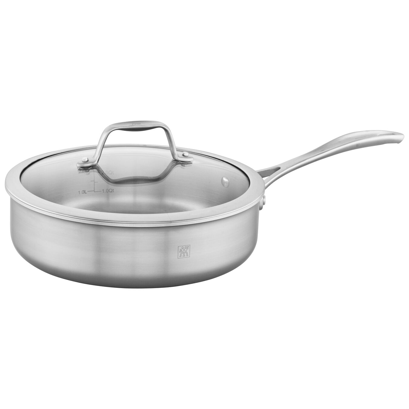 3-ply 3-qt Stainless Steel Saute Pan,,large 1