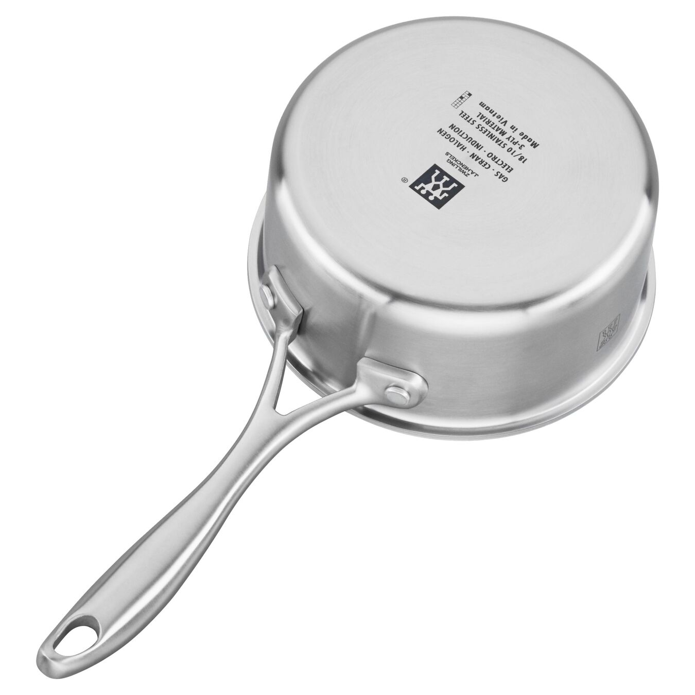 3-ply 1-qt Stainless Steel Saucepan,,large 3