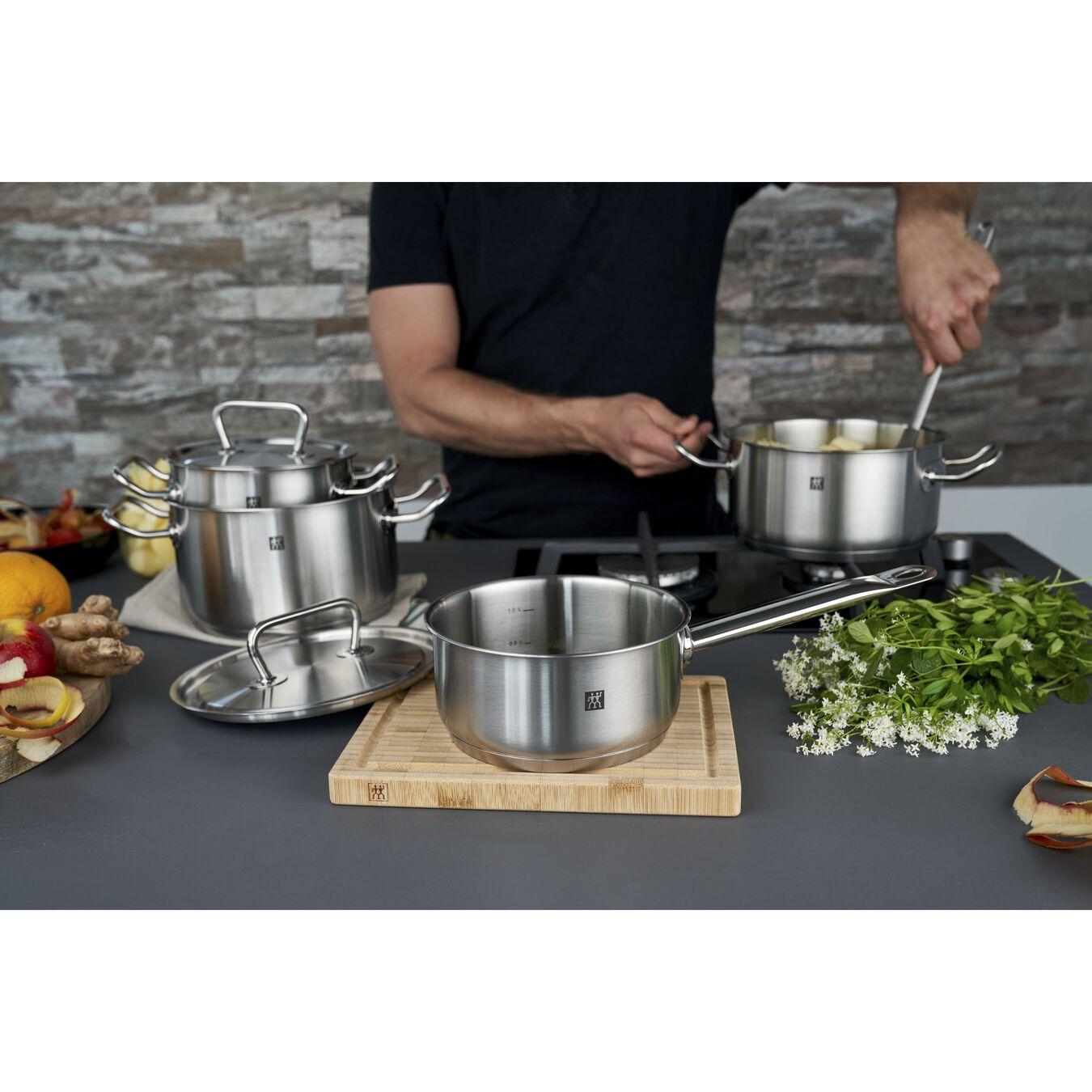 Ensemble de casseroles 4-pcs, Inox 18/10,,large 2