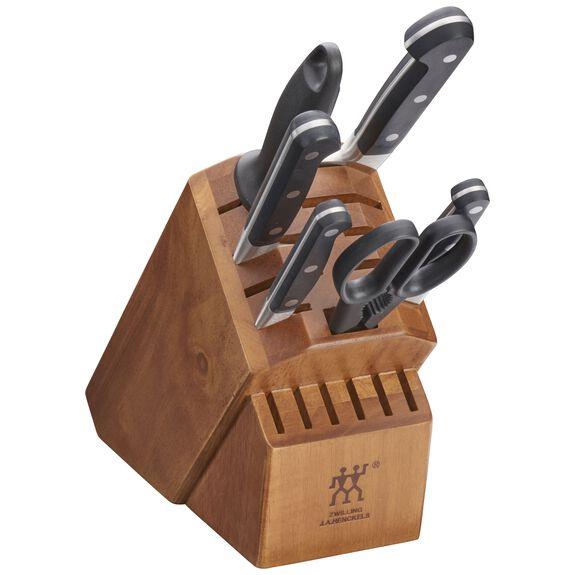 7-pc Knife block set ,,large