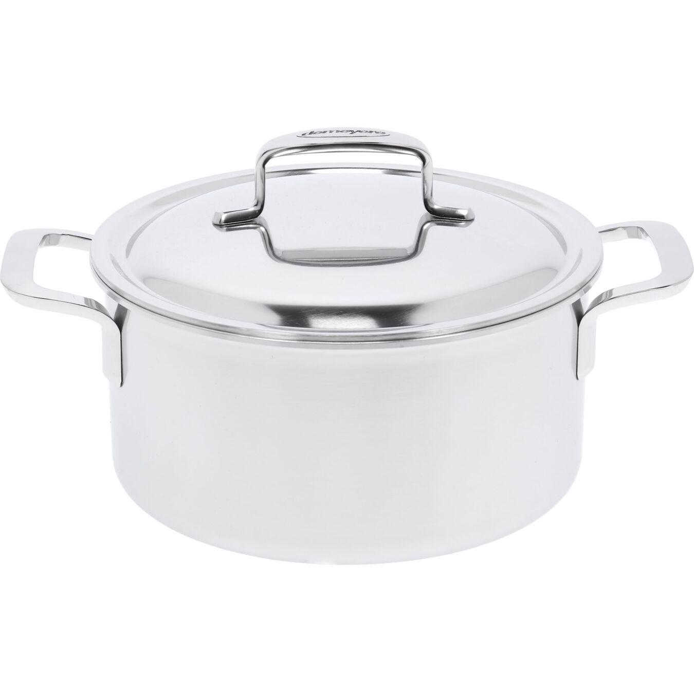Kookpot met dubbelwandig deksel, 22 cm / 4 l,,large 1