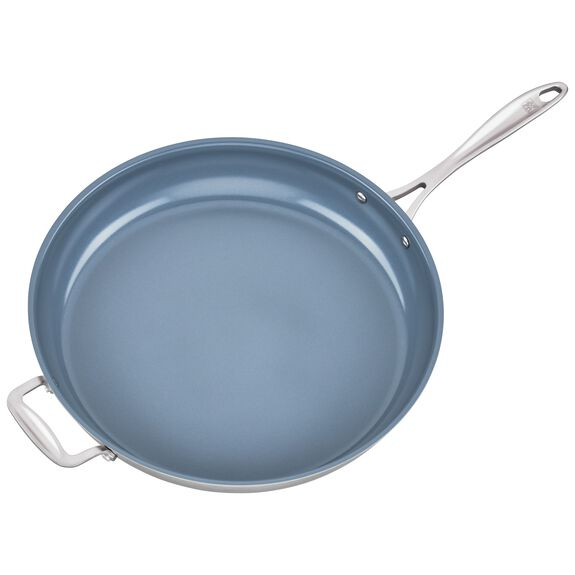 14-inch 18/10 Stainless Steel Frying pan,,large 4