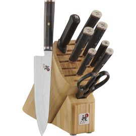 MIYABI Kaizen, 10-pc, Knife block set
