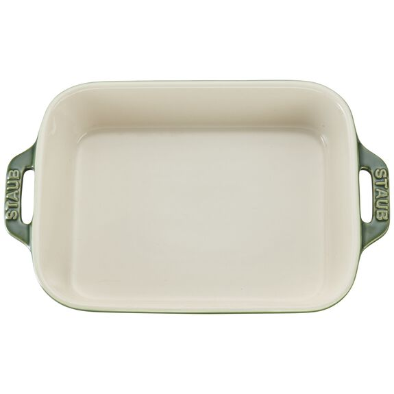 7.5-inch x 6-inch Rectangular Baking Dish - Basil,,large 3