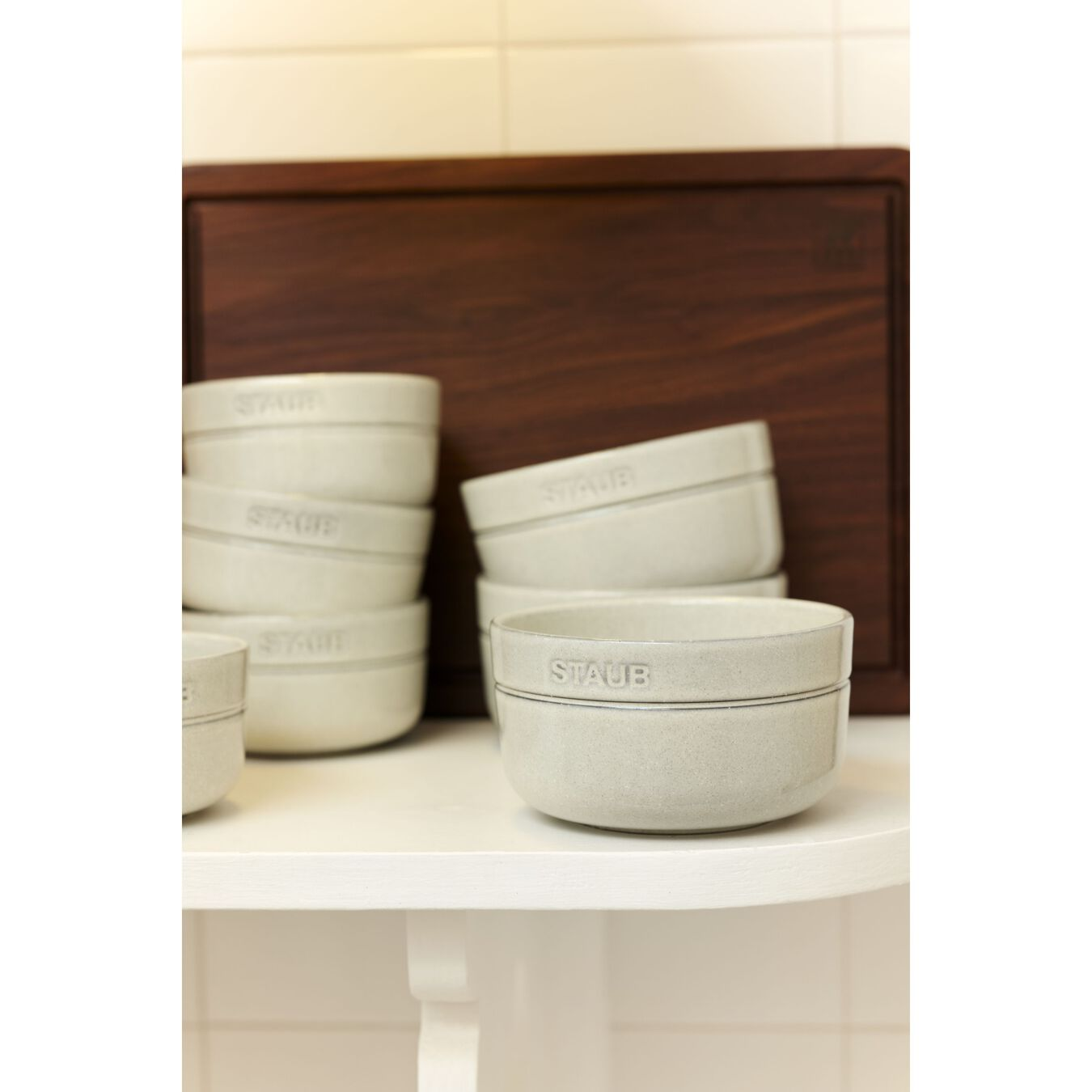 Ciotola rotonda - 12 cm, tartufo bianco,,large 3