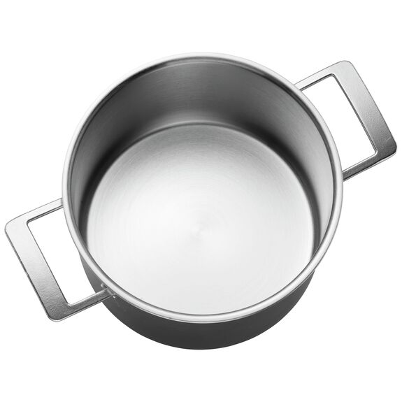 8.5-qt 18/10 Stainless Steel Stock pot,,large 3