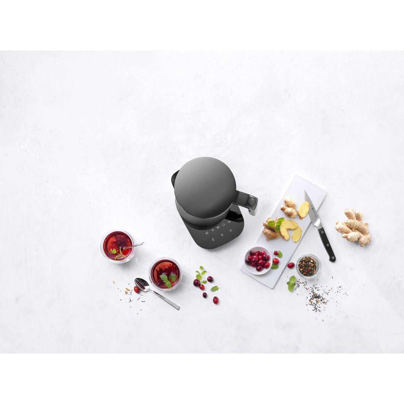 Bouilloire électrique Pro, 1,5 l, Noir,,large 3