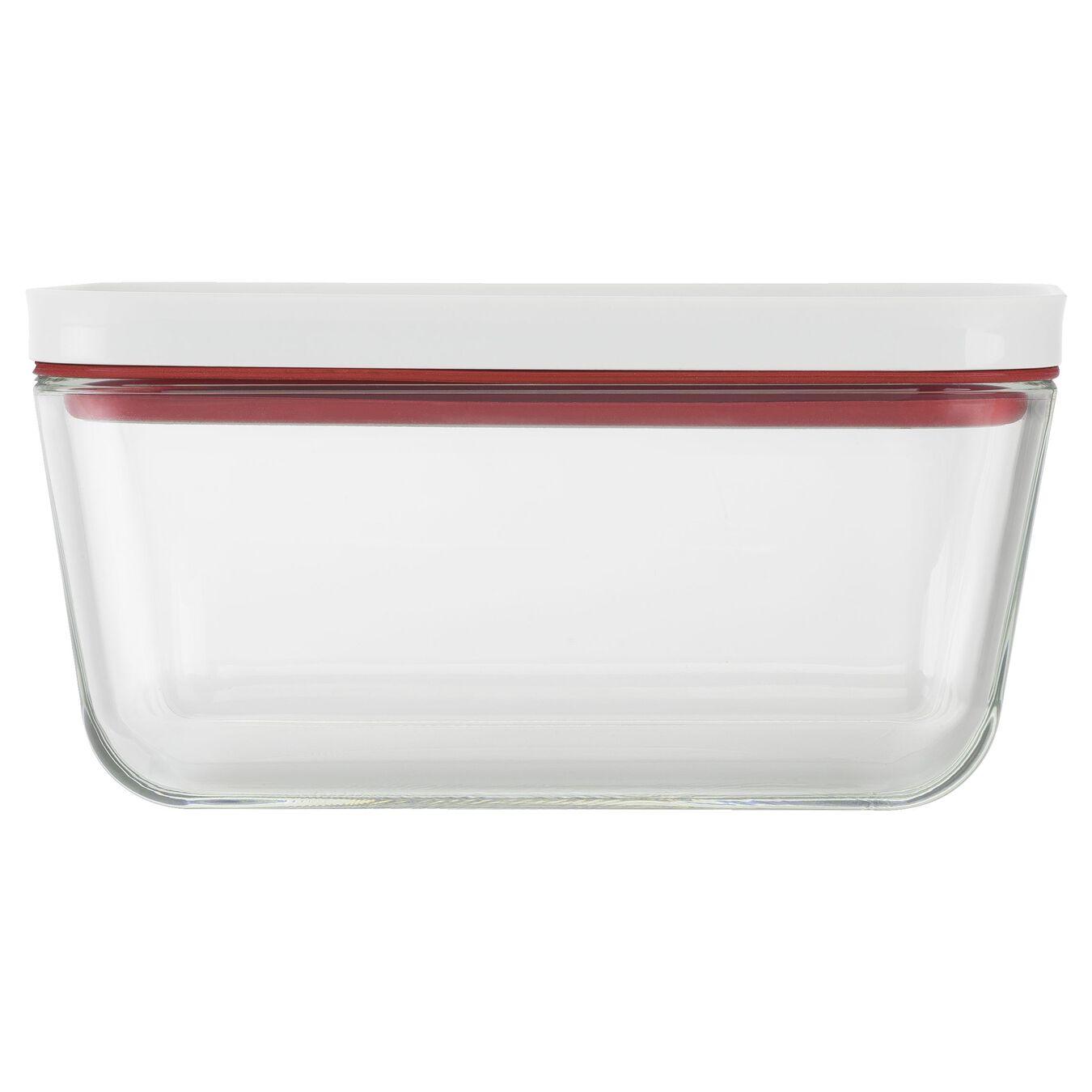 Contenitore sottovuoto, M, vetro, rosso,,large 3