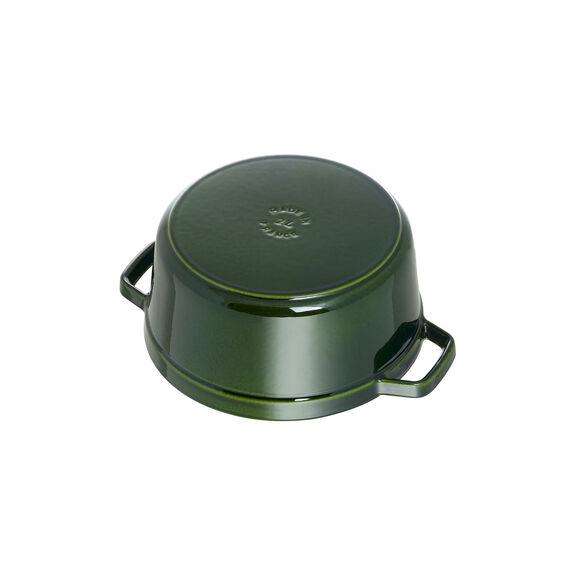 2.75-qt Round Cocotte - Basil,,large 5