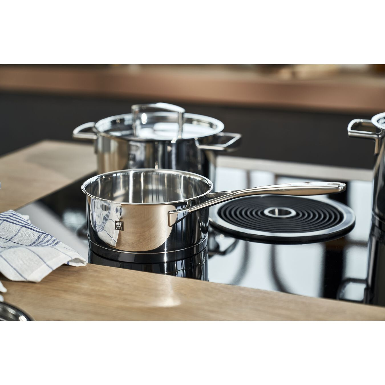 Ensemble de casseroles 5-pcs, Inox 18/10,,large 3