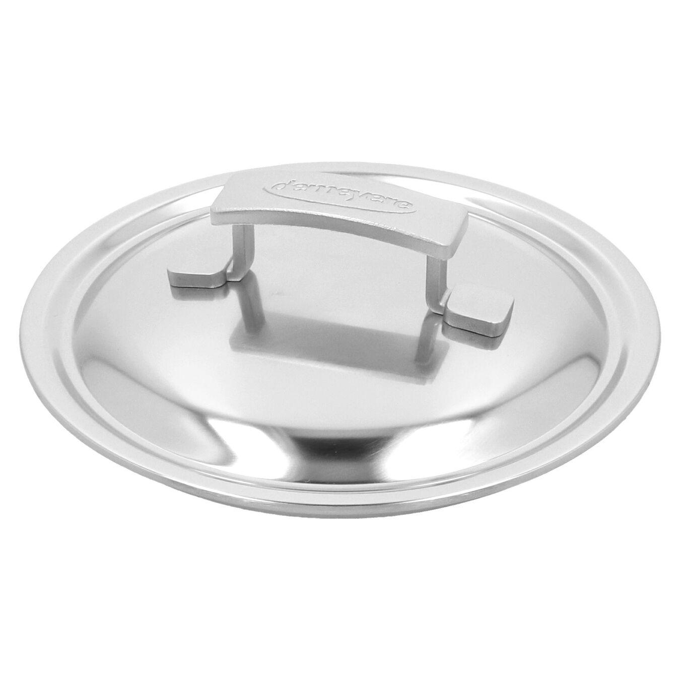 Casseruola con manico con coperchio - 18 cm, 18/10 acciaio inossidabile,,large 3