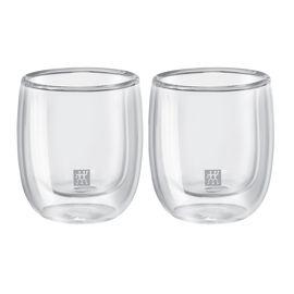 ZWILLING Sorrento, Set di bicchierini da caffè - 2-pz., vetro borosilicato