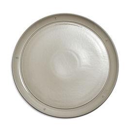 Staub Boussole, 11.25 inch, Plate, graphite grey
