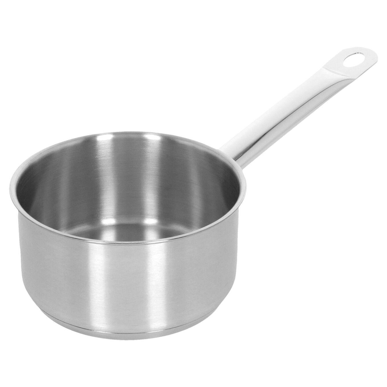 Steelpan met deksel, 14 cm / 1 l,,large 2