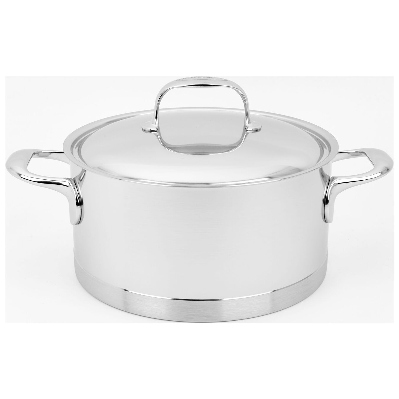 4 l 18/10 Stainless Steel Stew pot with lid,,large 1