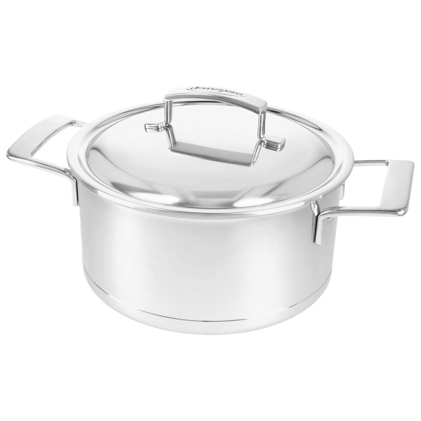 Kookpot met dubbelwandig deksel 22 cm / 4 l,,large 2