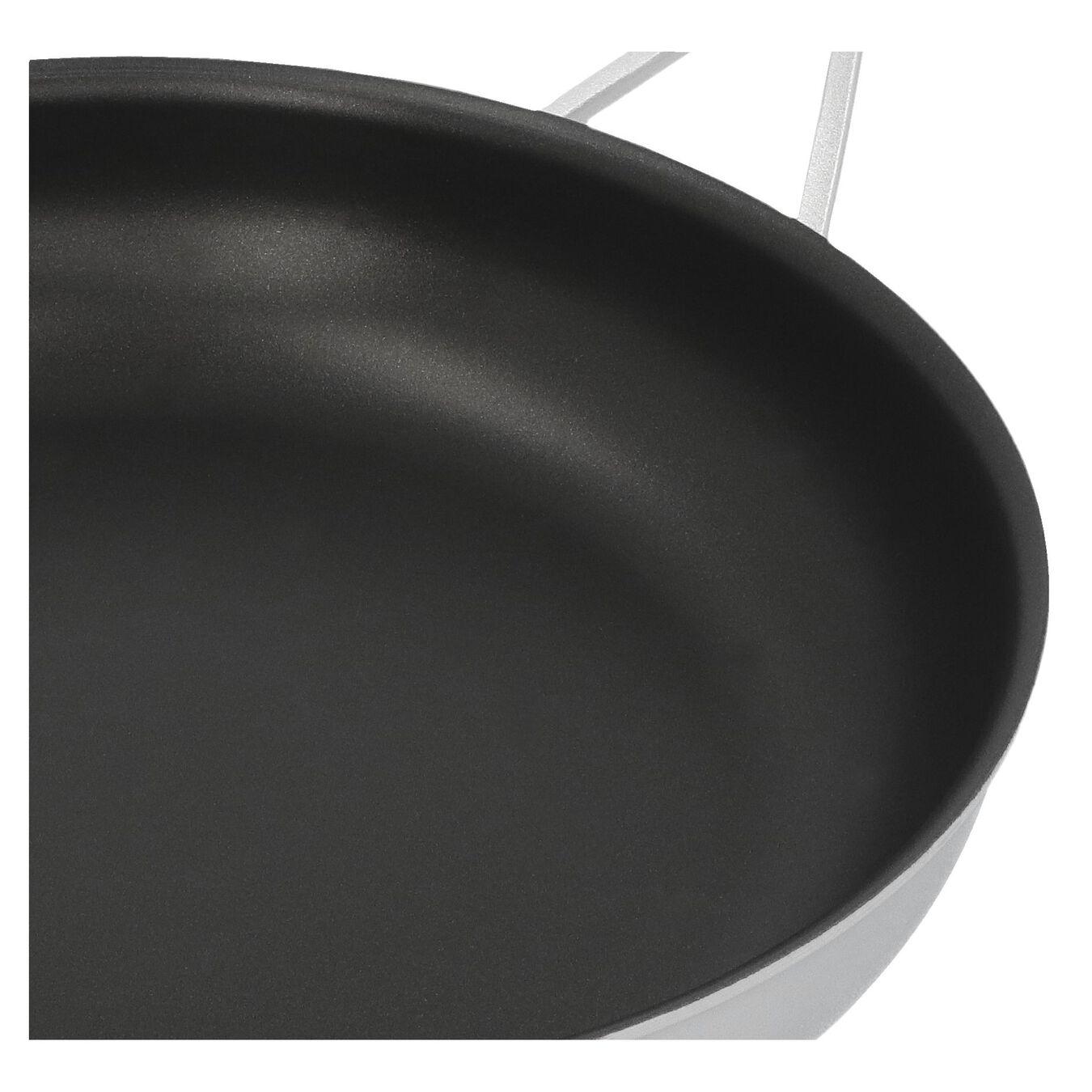 Poêle 28 cm, Inox 18/10, Noir argenté,,large 3