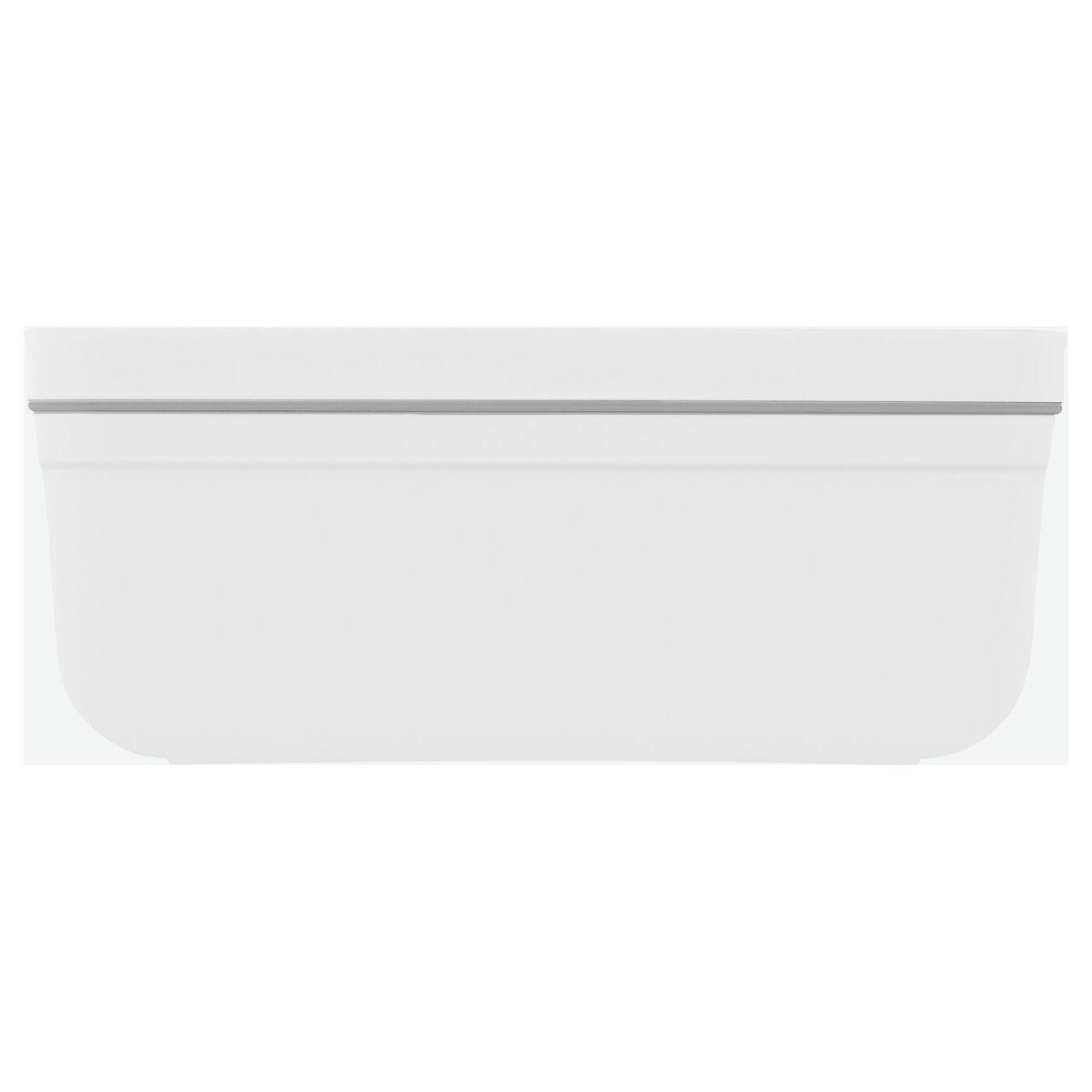 Vakumlu Yemek Kabı, M, Plastik, Beyaz,,large 2