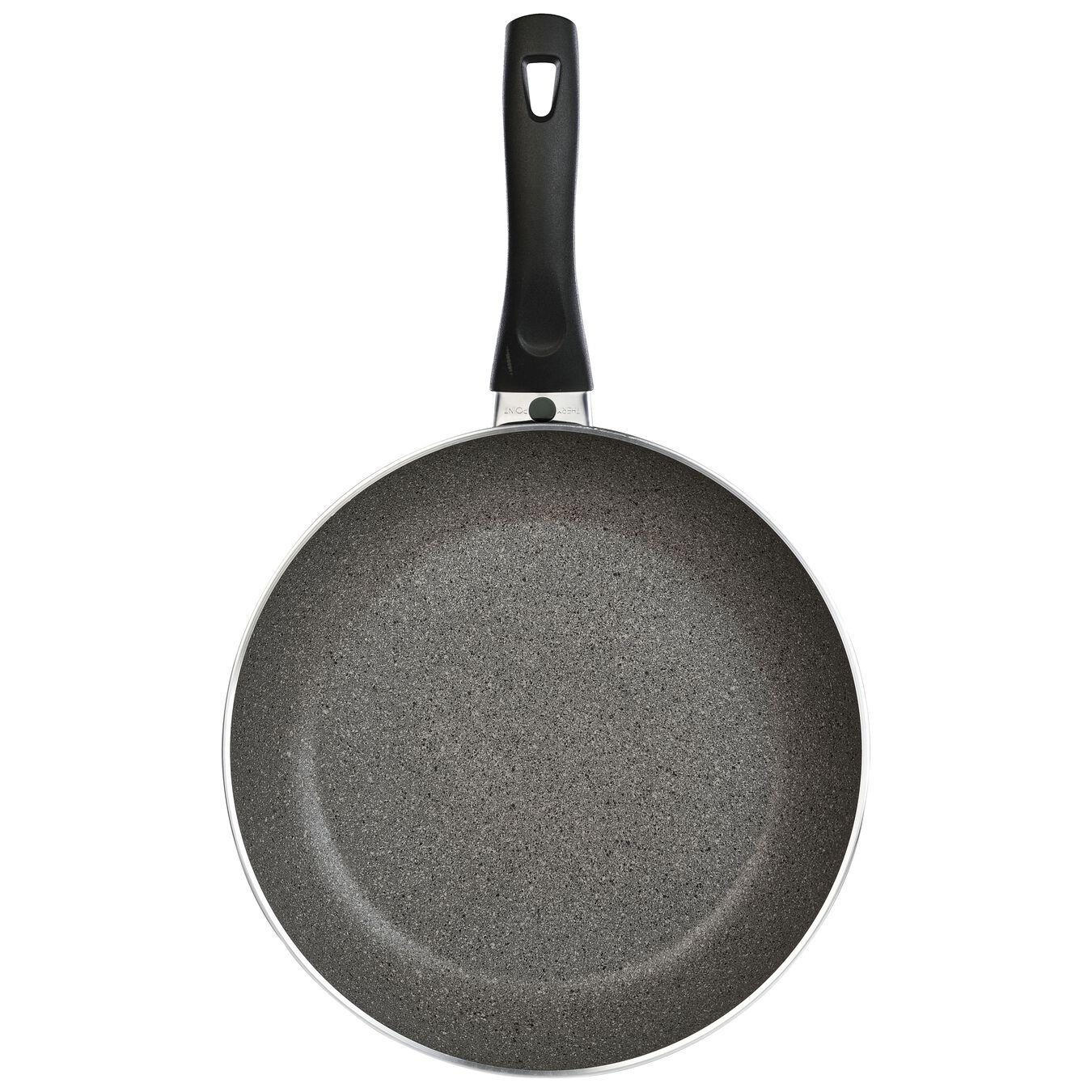 Poêle 28 cm, Aluminium, Noir,,large 7