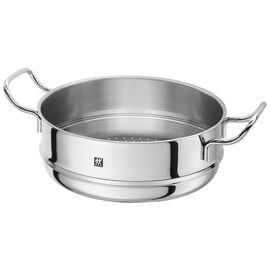ZWILLING PLUS, Buharda Pişirme Aparatı, Yuvarlak   24 cm   Metalik Gri